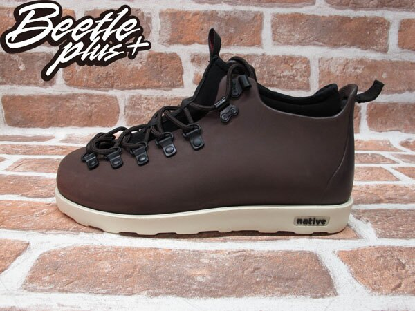BEETLE PLUS 西門町經銷 全新 加拿大品牌 NATIVE FITZSIMMONS BOOTS 超輕量 登山靴 咖啡 BROWN GLM06-245 0