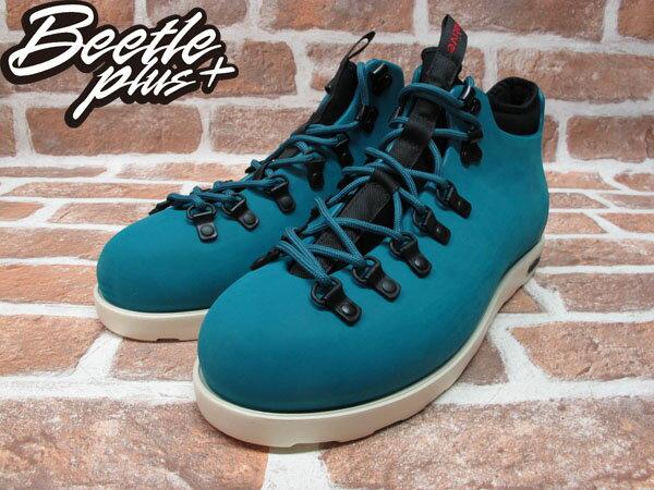 BEETLE PLUS 西門町專賣店 全新 NATIVE FITZSIMMONS BOOTS 登山靴 SCUBA GREEN 湖水綠 GLM06-348 1