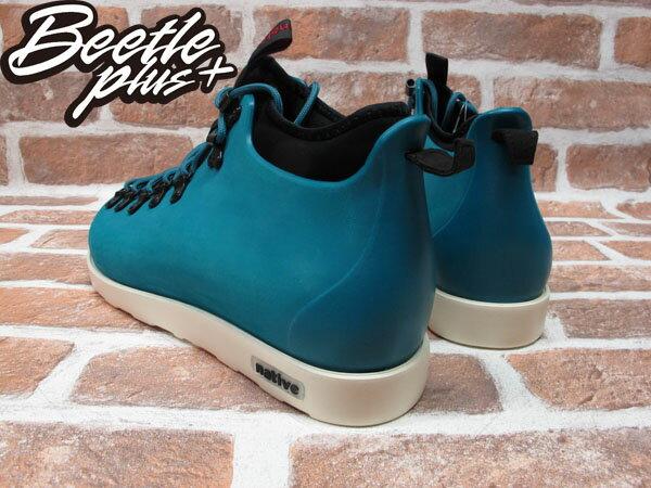 BEETLE PLUS 西門町專賣店 全新 NATIVE FITZSIMMONS BOOTS 登山靴 SCUBA GREEN 湖水綠 GLM06-348 2