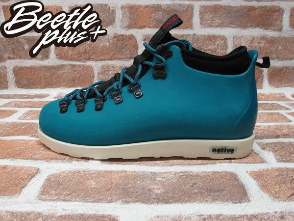 BEETLE PLUS 西門町專賣店 全新 NATIVE FITZSIMMONS BOOTS 登山靴 SCUBA GREEN 湖水綠 GLM06-348