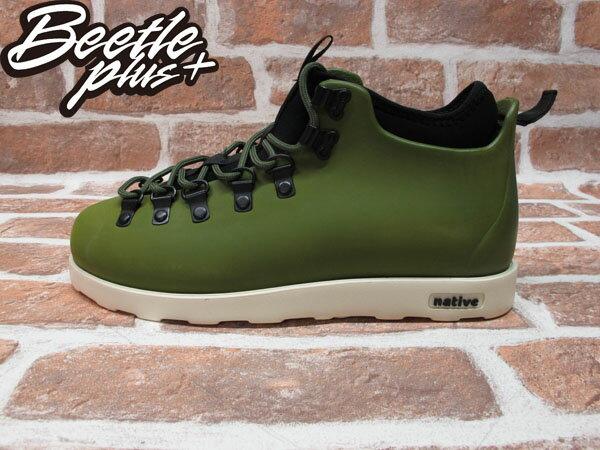 BEETLE PLUS 西門町專賣店 全新 加拿大 NATIVE FITZSIMMONS BOOTS 超輕量 登山靴 墨綠 GLM06-349