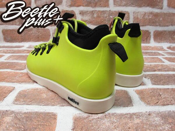 BEETLE PLUS 西門町專賣店 全新 NATIVE FITZSIMMONS BOOTS 登山靴 FIZZ GREEN 螢光黃 GLM06-358 2