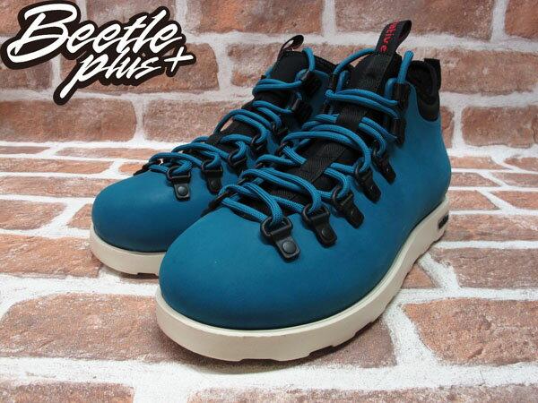 BEETLE PLUS 西門町專賣店 全新 NATIVE FITZSIMMONS BOOTS 登山靴 STADIUM BLUE 土耳其藍 GLM06-471 1