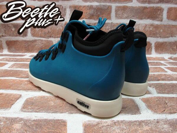 BEETLE PLUS 西門町專賣店 全新 NATIVE FITZSIMMONS BOOTS 登山靴 STADIUM BLUE 土耳其藍 GLM06-471 2