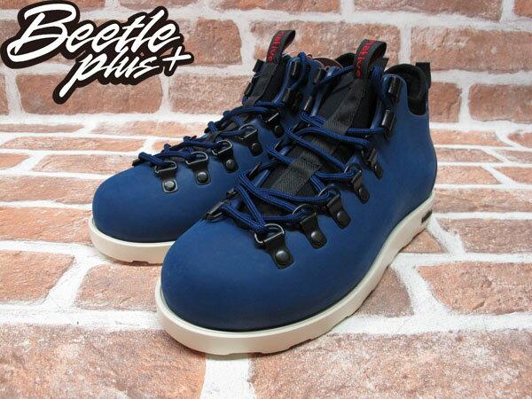 BEETLE PLUS 西門町專賣 全新 NATIVE FITZSIMMONS BOOTS 登山靴 深藍 REGATTA BLUE GLM06-485 1