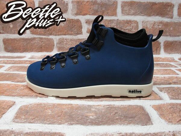 BEETLE PLUS 西門町專賣 全新 NATIVE FITZSIMMONS BOOTS 登山靴 深藍 REGATTA BLUE GLM06-485 0