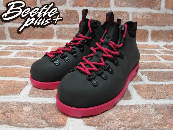 BEETLE PLUS 西門町專賣店 全新 NATIVE FITZSIMMONS BOOTS 超輕量 登山靴 黑粉紅 PINK 雙色 GLM06-693 1