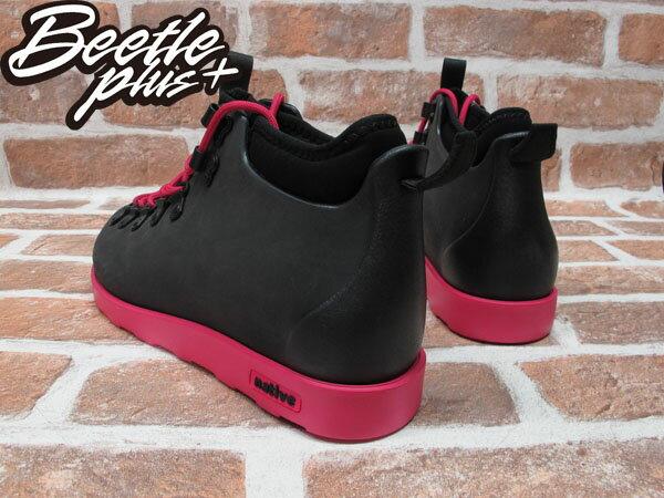 BEETLE PLUS 西門町專賣店 全新 NATIVE FITZSIMMONS BOOTS 超輕量 登山靴 黑粉紅 PINK 雙色 GLM06-693 2