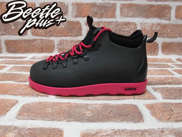 BEETLE PLUS 西門町專賣店 全新 NATIVE FITZSIMMONS BOOTS 超輕量 登山靴 黑粉紅 PINK 雙色 GLM06-693 0