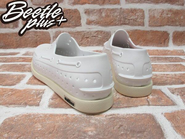 BEETLE PLUS 西門町專賣 全新 2013 加拿大 NATIVE SHOES HOWARD 奶油底 白色 帆船鞋 GLM11-110 2