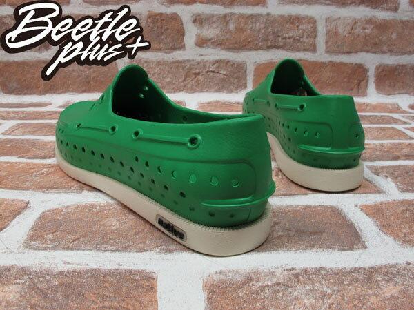 BEETLE PLUS 全新 現貨 NATIVE HOWARD PICNIC GREEN 雷根 呼吸 蔬菜綠 帆船鞋 奶油底 GLM11-360 2