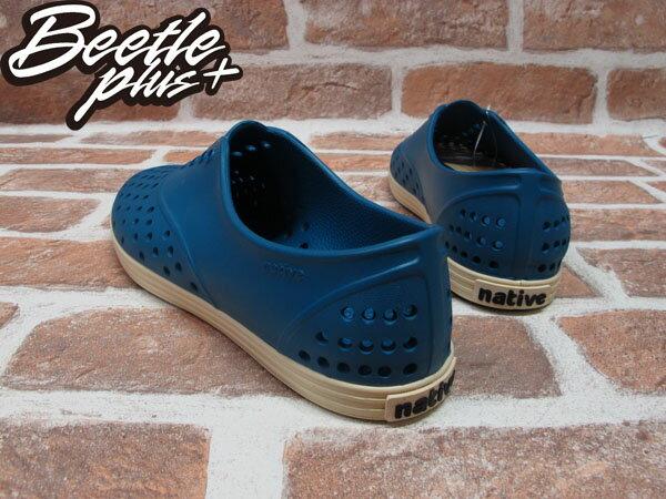 BEETLE PLUS 西門町專賣 全新 NATIVE SHOES JERICHO STADIUM BLUE 湖水藍 奶油底 女鞋 GLM04W-471 2