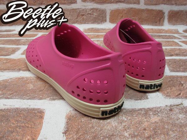 西門町 BEETLE PLUS 全新 NATIVE JERICHO 粉紅 HOLLYWOOD PINK 超輕 馬卡龍 路嘉怡 女鞋 GLM04W-690 2