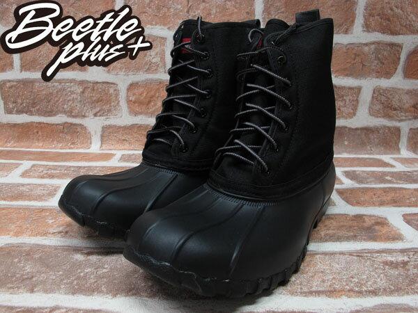 BEETLE PLUS 全新 NATIVE JIMMY JIFFY BLACK 全黑 紅格紋內裡 獵牙靴 超輕量 GLM15-005 1