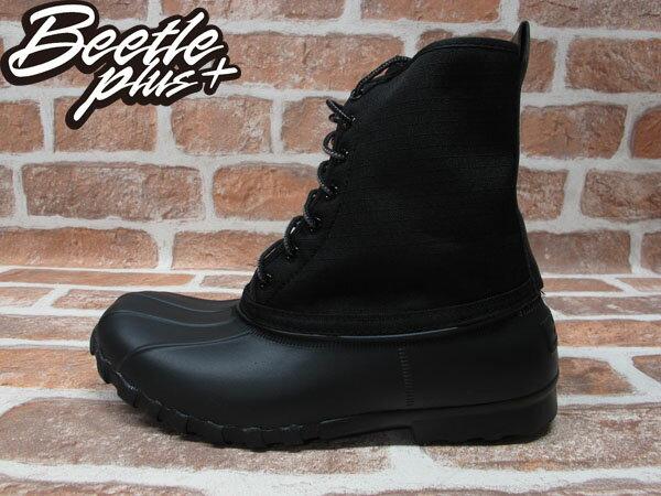 BEETLE PLUS 全新 NATIVE JIMMY JIFFY BLACK 全黑 紅格紋內裡 獵牙靴 超輕量 GLM15-005 0