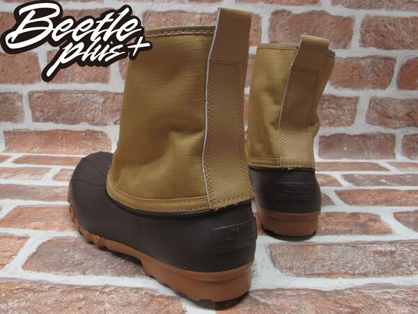 BEETLE PLUS 全新 NATIVE JIMMY PEANUT BROWN 卡其 紅格紋內裡 獵牙靴 超輕量 GLM15-201 2