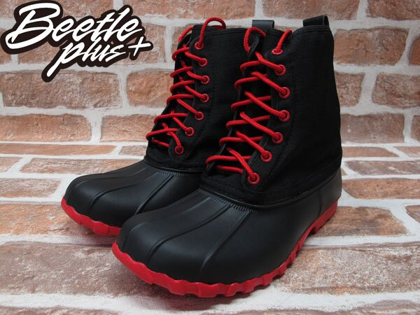 BEETLE PLUS 西門町經銷 全新 NATIVE JIMMY JIFFY BLACK TORCH RED 黑紅 超輕量 獵牙靴 1
