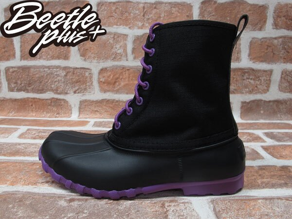BEETLE PLUS 全新 NATIVE JIMMY JIFFY BLACK PURPLE 黑紫 獵牙靴 超輕量 GLM15W-013 0