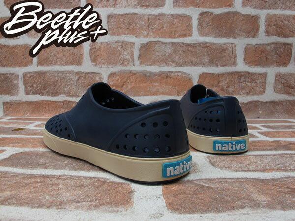 西門町 BEETLE PLUS 全新 現貨 加拿大 NATIVE MILLER 超輕量 便鞋 深藍色 REGATTA BLUE 奶油底 GLM02-485 2
