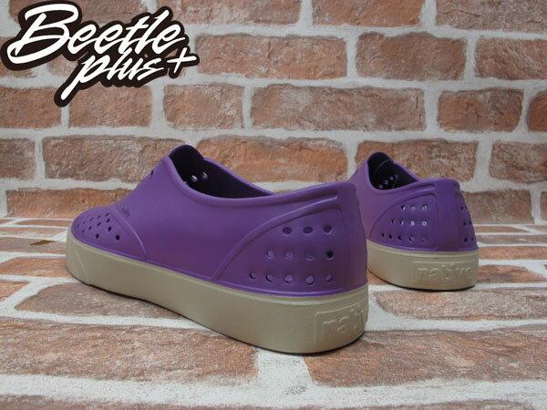 西門町 BEETLE PLUS 全新 現貨 加拿大 NATIVE MILLER 超輕量 便鞋 葡萄紫 GOSSIP PURRLE 奶油底 GLM02-GP 2