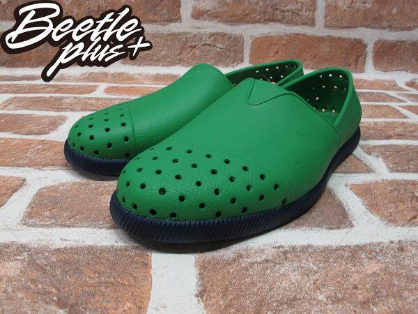 BEETLE PLUS 西門町經銷 現貨 NATIVE VERONA PICNIC GREEN WITH REGATTA BLUE 蔬菜綠藍 水手鞋 GLM18-362 1