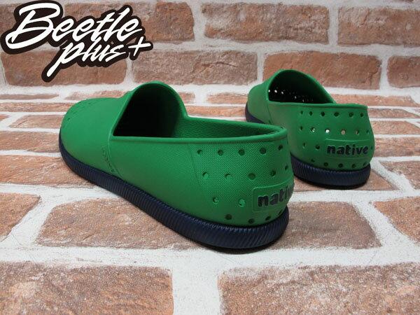 BEETLE PLUS 西門町經銷 現貨 NATIVE VERONA PICNIC GREEN WITH REGATTA BLUE 蔬菜綠藍 水手鞋 GLM18-362 2