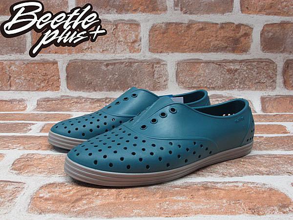 BEETLE PLUS 全新 NATIVE JERICHO FADED GLORY BLUE 湖水藍 3代 藍 綠 鐵灰 灰底 超輕量 女鞋 GLM04W-425 2