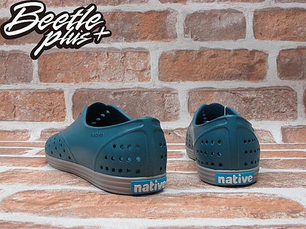BEETLE PLUS 全新 NATIVE JERICHO FADED GLORY BLUE 湖水藍 3代 藍 綠 鐵灰 灰底 超輕量 女鞋 GLM04W-425 1