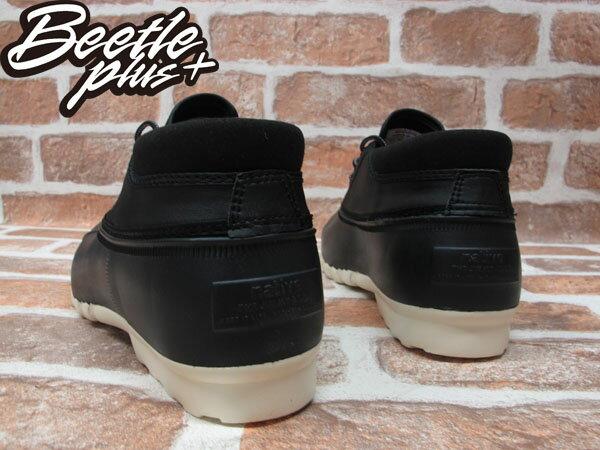 BEETLE PLUS 2014 全新 NATIVE JIMMY MID JIFFY BLACK 黑 奶油底 短筒 獵鴨靴 超輕量 防水鞋 GLM15B-001 2