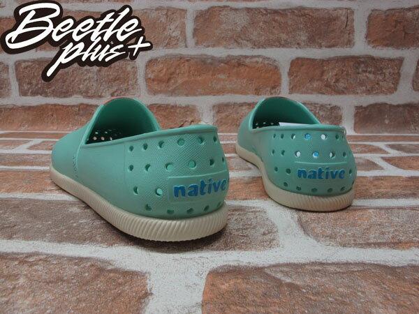 BEETLE PLUS 西門町專賣店 2014 全新 NATIVE VERONA FRESCO GREEN水手鞋 超輕量 綠 橘 GLM18-334 2