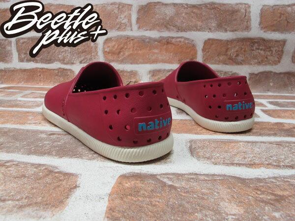 BEETLE PLUS 全新 經銷商 2014 春夏最新 NATIVE VERONA 紅 酒紅 輕量 奶油底 水手鞋 TOMS GLM18-610 2