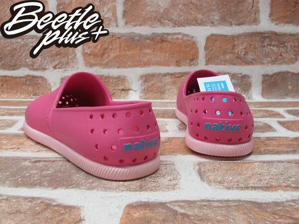 BEETLE PLUS 西門町 專賣店 NATIVE VERONA HOLLYWOOD PINK 水手鞋 粉紅 櫻桃 草莓優格 馬卡龍 GLM18-698 2