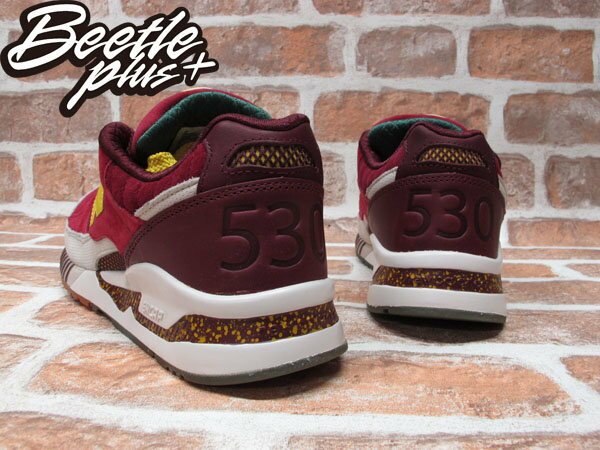 BEETLE PLUS NEW BALANCE M530KH KITH NYC CENTRAL PARK M530KH 店舖限定 楓葉 中央公園 酒紅 黃 2
