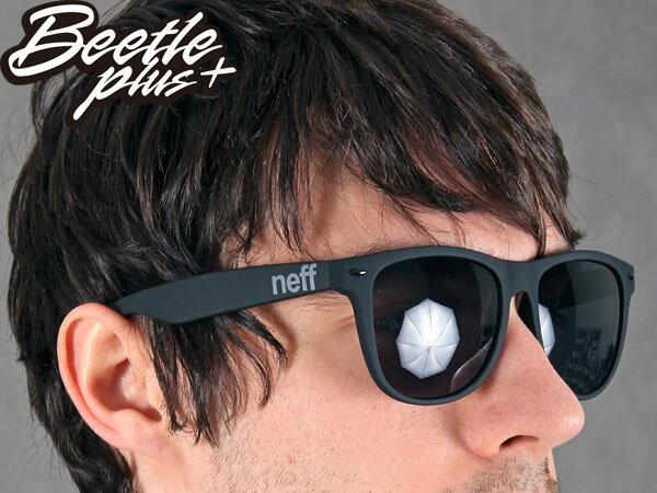 BEETLE PLUS 美國潮牌 NEFF SUNGLASS DAILY SHADES MATTE BLACK 消光 黑色 太陽眼鏡 E-07 0