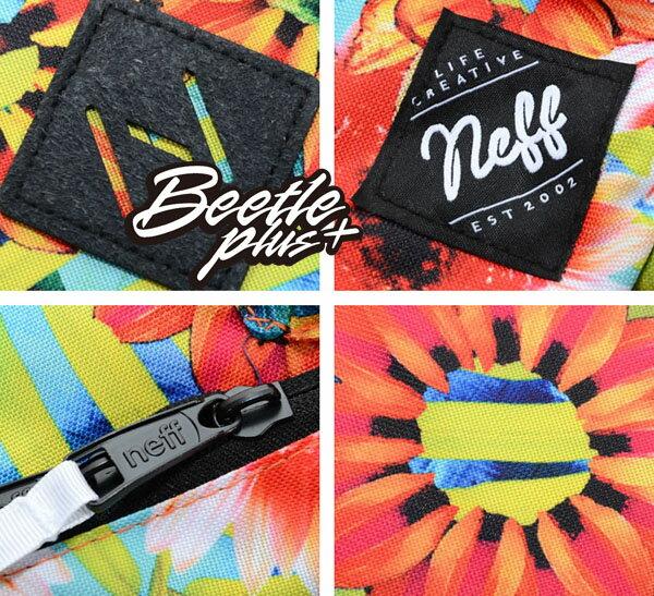 BEETLE PLUS 西門町經銷 全新 美國品牌 NEFF SCHOLAR BACKPACK 花卉 花花 春神 向日葵 豬鼻子 後背包 NF-95 2