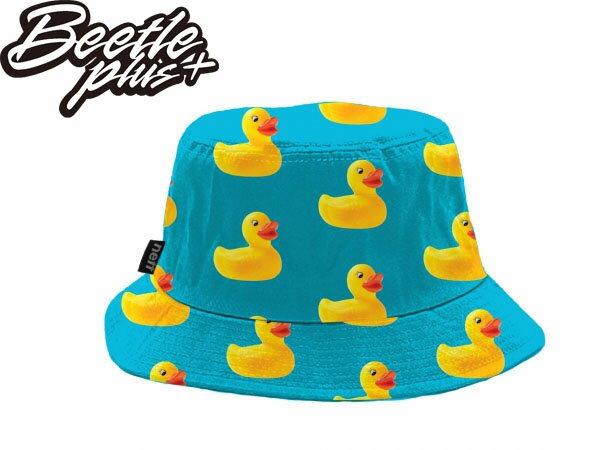 BEETLE DUCKY REVERSIBLE BUCKET HAT 黃色小鴨 藍黃 全黑 雙面 兩面戴 漁夫帽 非 STUSSY OBEY 0