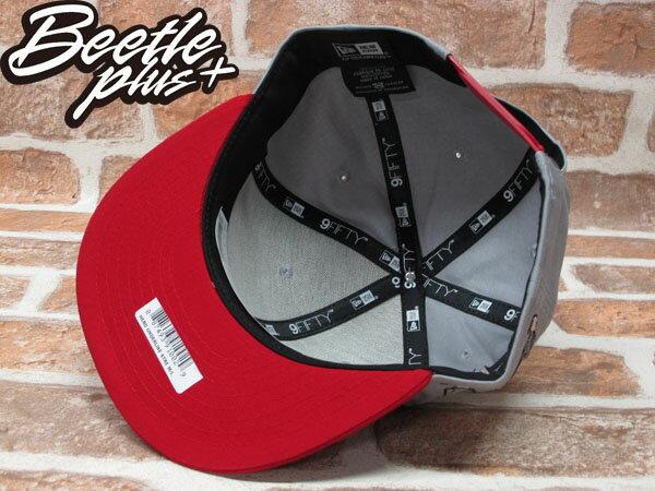 BEETLE PLUS 全新 NEW ERA STREET FIGHTER 快打旋風 THE HERO 文字 灰 紅 SNAPBACK 後扣棒球帽 NE-76 2