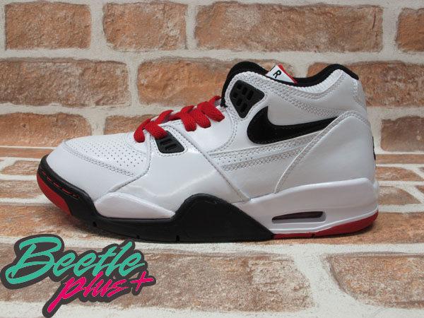 BEETLE PLUS 全新 NIKE AIR FLIGHT 89 GS JORDAN 4 白黑 白紅 黑紅 亮皮 童鞋 女鞋 318003-106