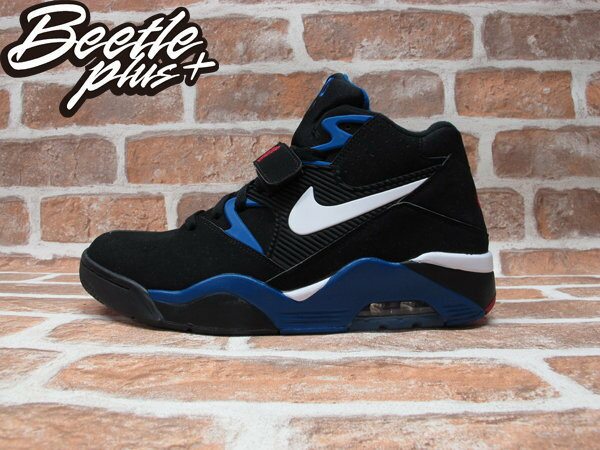 BEETLE PLUS NIKE AIR FORCE 180 BARKLEY 巴克利 黑藍 太陽 魔術 權志龍 GD 310095-011 0