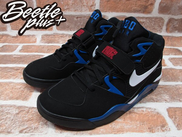 BEETLE PLUS NIKE AIR FORCE 180 BARKLEY 巴克利 黑藍 太陽 魔術 權志龍 GD 310095-011 1