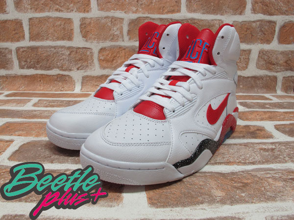 BEETLE PLUS NIKE AIR FORCE 180 MID WHITE HYPER RED 白紅 537330-101 G-DRAGON BIG BANG 537330-101 1