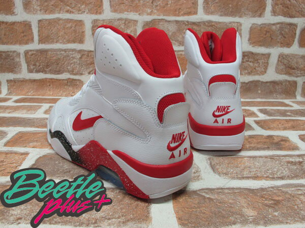 BEETLE PLUS NIKE AIR FORCE 180 MID WHITE HYPER RED 白紅 537330-101 G-DRAGON BIG BANG 537330-101 2