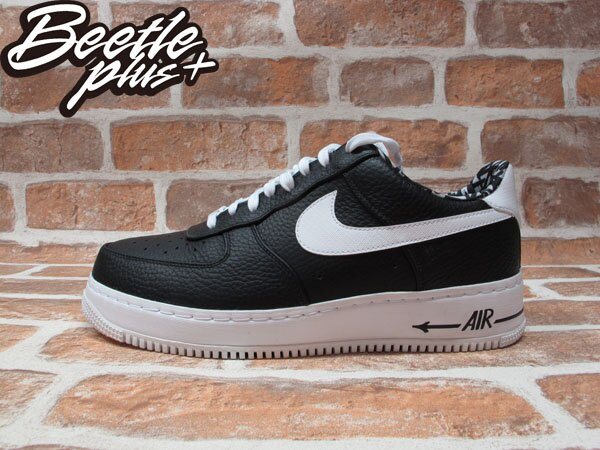 BEETLE PLUS NIKE AIR FORCE 1 LOW CMFT LW HZ QS 經典 限量 塗鴉大師 黑色 HAZE 白勾 709025-010 0