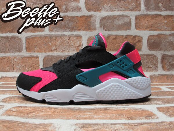 BEETLE PLUS NIKE AIR HUARACHE HYPER PINK 粉紅 南灣 慢跑 輕量 忍者鞋 318429-600 0
