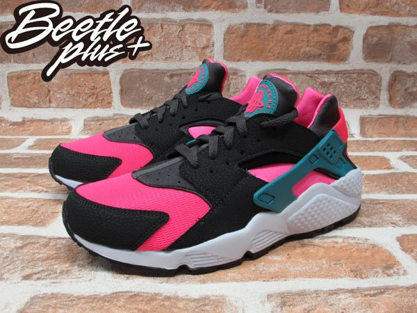 BEETLE PLUS NIKE AIR HUARACHE HYPER PINK 粉紅 南灣 慢跑 輕量 忍者鞋 318429-600 1