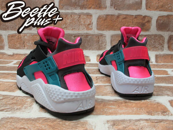 BEETLE PLUS NIKE AIR HUARACHE HYPER PINK 粉紅 南灣 慢跑 輕量 忍者鞋 318429-600 2