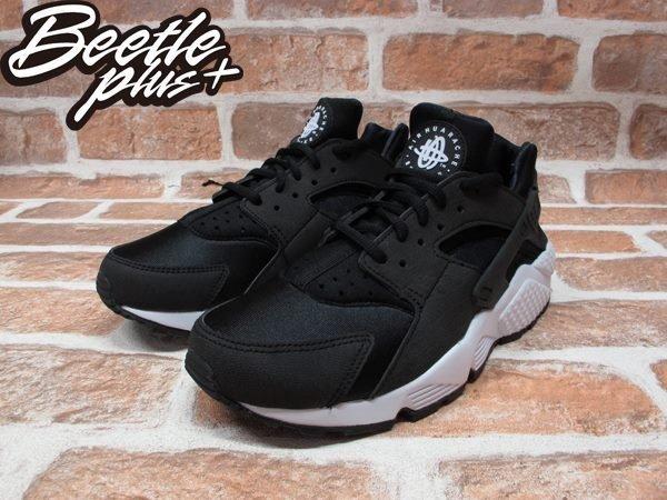 BEETLE PLUS WMNS NIKE AIR HUARACHE RUN 黑白 武士 女鞋 輕量 限量 GD 慢跑鞋 634835-006 1