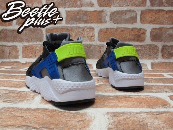 BEETLE PLUS NIKE AIR HUARACHE RUN GS 黑灰 藍 蟾蜍紋 女鞋 慢跑鞋 654275-003 2