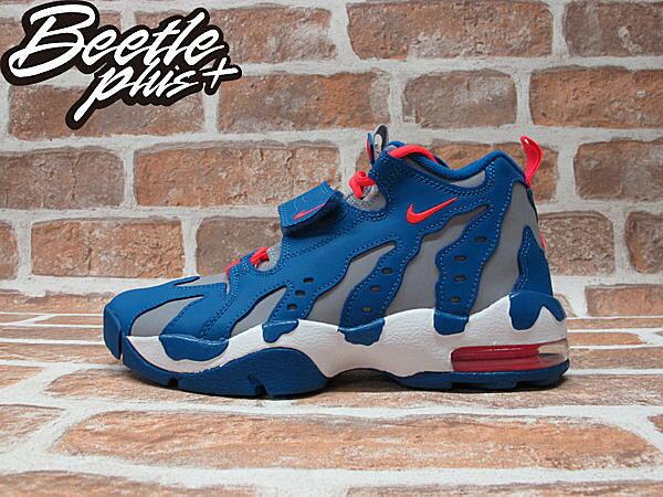 BEETLE PLUS AIR DT MAX'96 GS 灰籃 魔鬼氈 火焰 爪痕 大氣墊 籃球鞋 616502-400 0