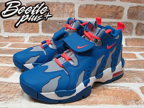 BEETLE PLUS AIR DT MAX'96 GS 灰籃 魔鬼氈 火焰 爪痕 大氣墊 籃球鞋 616502-400 1